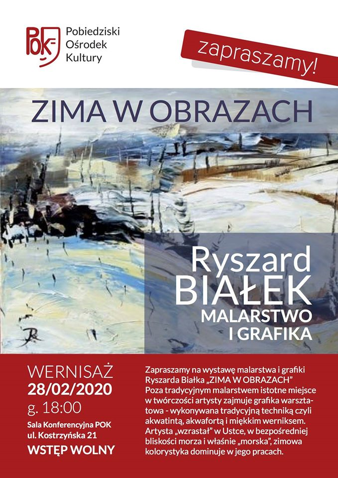 Ryszard Białek- wernisaż