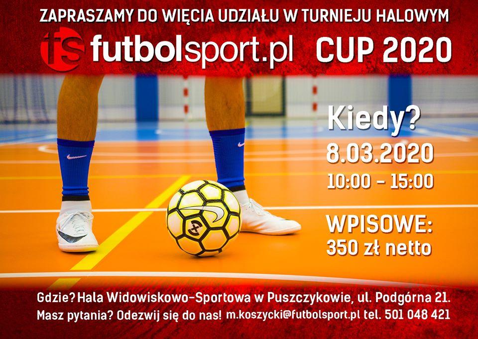 Turniej Halowej Piłki Nożnej futbolsport.pl Cup 2020