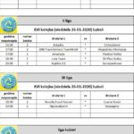 Tabela rozgrywek sportowych