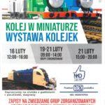 Plakat wystawy kolejek na luty 2020