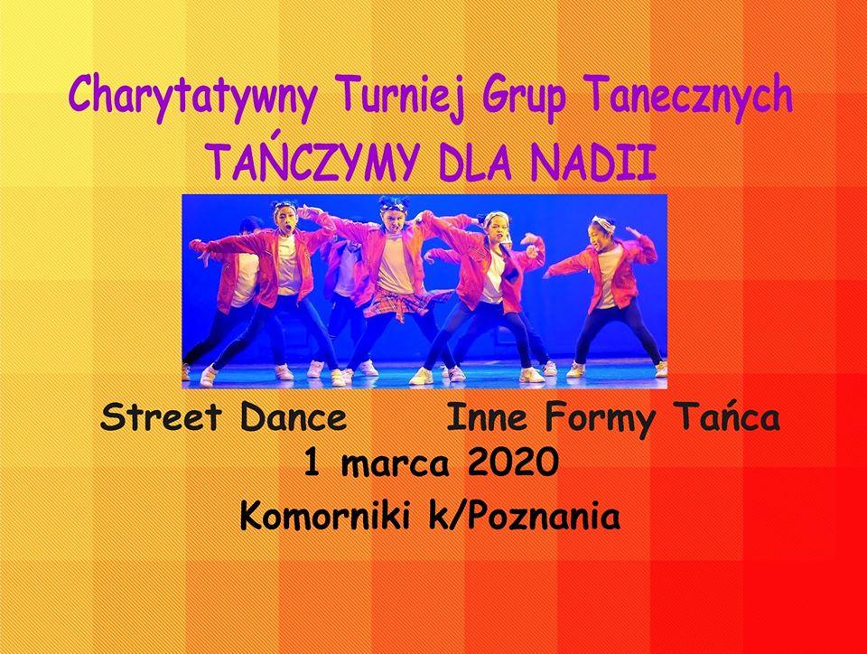 Charytatywny Turniej Grup Tanecznych