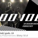 Plakat koncertu Voo Voo na 13 marca 2020