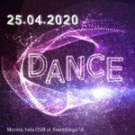 Plakat 17 turnieju par tanecznych w Mosinie