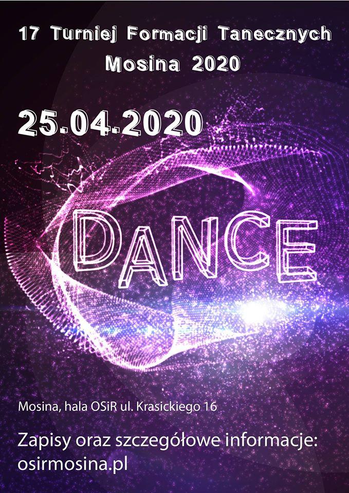 XVII Turniej Formacji Tanecznych - Mosina 2020