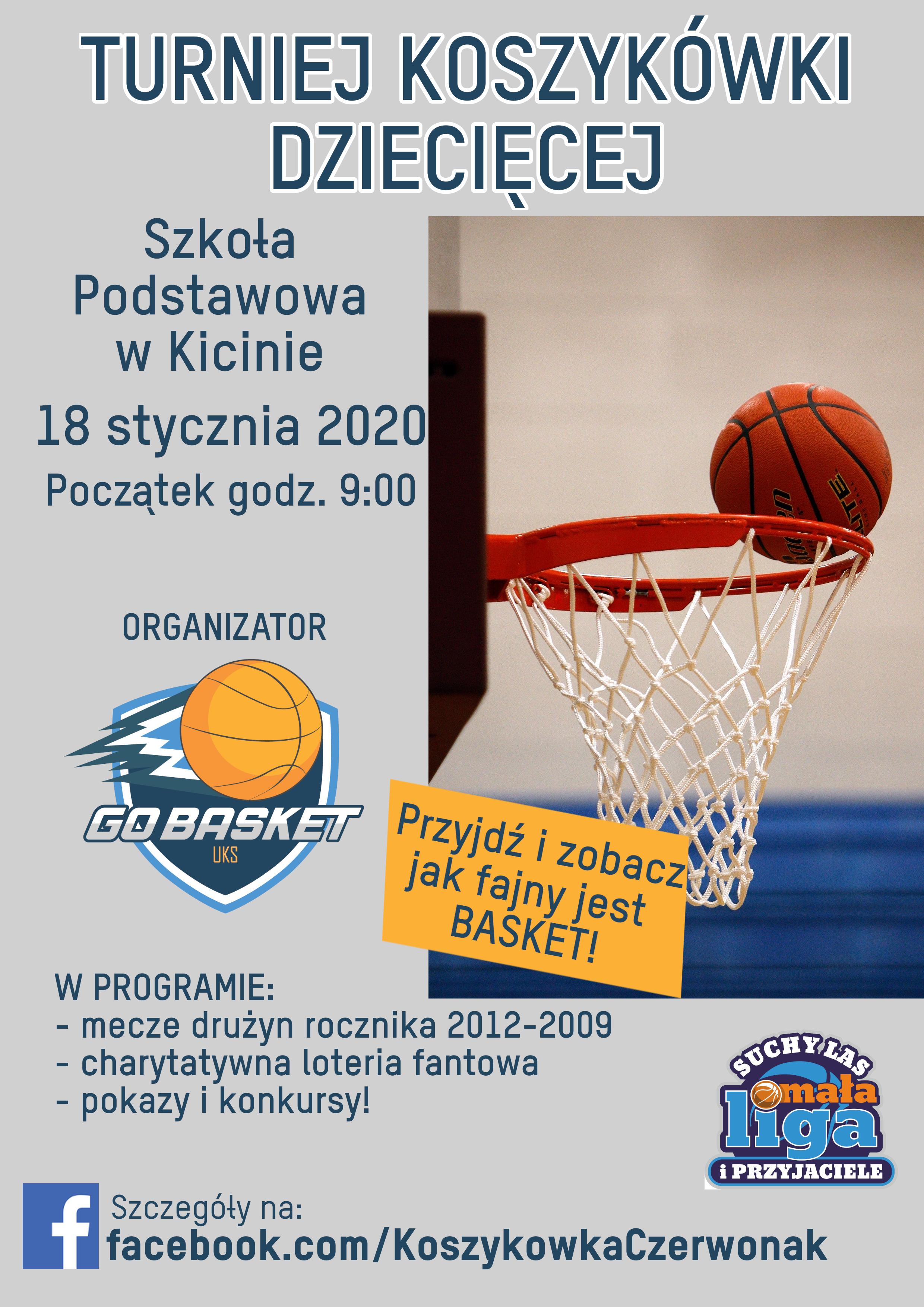 Turniej koszykówki dziecięcej