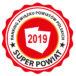 Logo Super Powiat 2019 konkursu Związku Powiatów Polskich