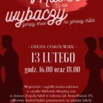 Plakat na show w Luboniu na 13 lutego 2020
