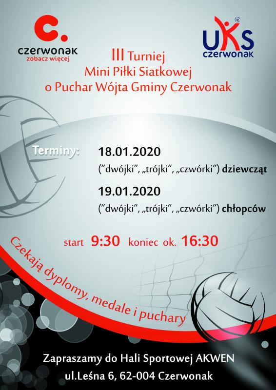 III Turniej Mini Piłki Siatkowej