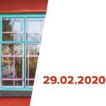 Plakat na spotkanie Jerz Igor na 29 lutego 2020