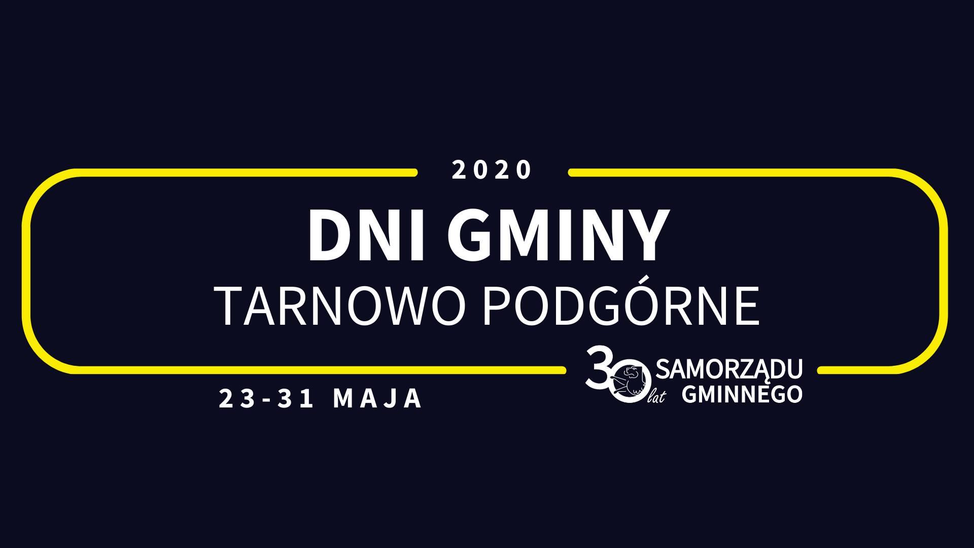 Dni Gminy Tarnowo Podgórne 2020 | 30-lecie Samorządu Gminnego