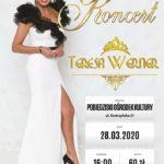 plakat koncertu Teresy Werner 28 marca 2020 godz 16