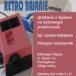 plakat retro bajanie, spotkanie z bajkami w biblliotece miejskiej w Puszczykowie, 27 luty 2020 godz. 18-18:30