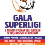 plakat gali superligii - turnieju o puchar gali superligi w kręglarstwie klasycznym
