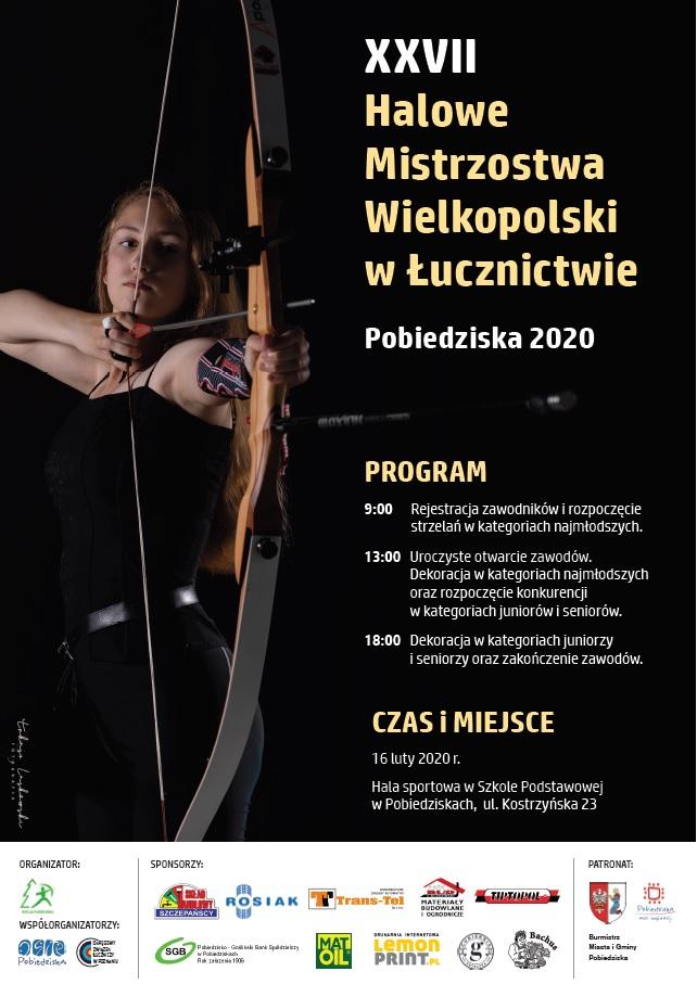 XXVII Halowe Mistrzostwa Wielkopolski w Łucznictwie - Pobiedziska 2020