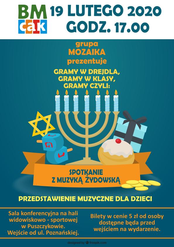Spotkanie z muzyką żydowską