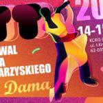 Plakat X Festiwalu tańca towarzyskiego 14-15 marca 2020