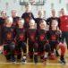 drużyna koszykówki Lider Swarzędz pozująca w dwóch rzędach do zdjęcia