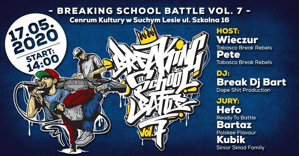 BreaKing School Battle vol. 7/ Finał Polish Breaking League 2020