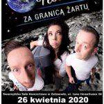 Plakat Kabaretu Nowaki na 26 kwietnia 2020