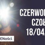 Plakat na czerwonacką czołówkę na 18 kwietnia 2020