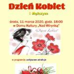 Plakat na dzień kobiet na 11 marca 2020