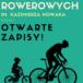 Plakat cyklu 6 rajdów rowerowych
