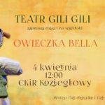 Plakat teatru Gili Gili na 4 kwietnia 2020