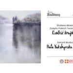 Plakat na wystawę krajobrazową
