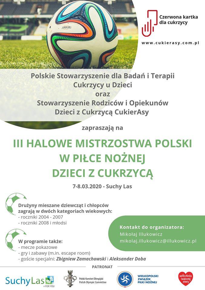 III Halowe Mistrzostwa Polski w piłce nożnej dzieci z cukrzycą