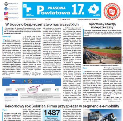 Strona gazety Prasowa Siedemnastka