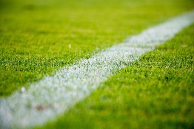 Fragment boiska piłkarskiego