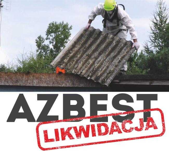 Logo akcji likwidacji azbestu