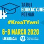 Plakat Targów Edukacyjnych na 6 marca 2020