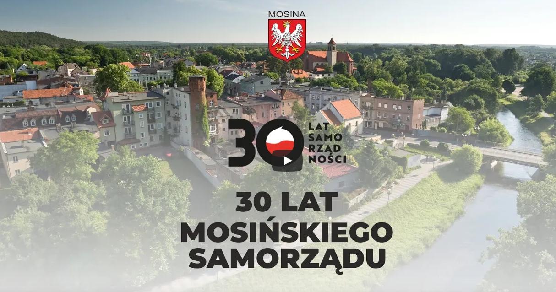 30 lat samorzadu mosińskiego