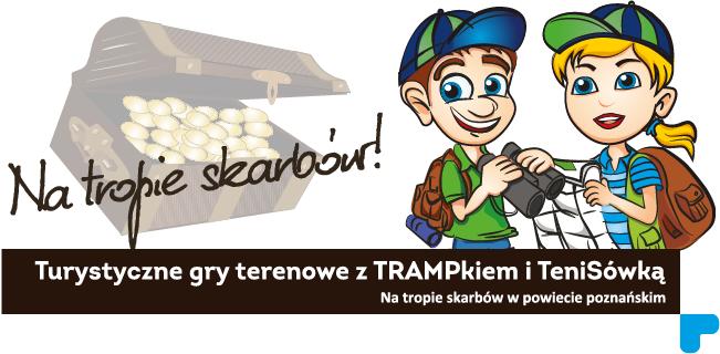 Na tropie skarbów z TRAMPkiem i TeniSówką - turystyczne gry terenowe