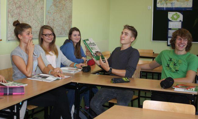 uczniowie ZS Puszczykowo