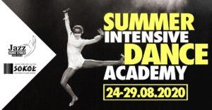 plakat Summer Intensive DANCE Academy 24-29 sierpnia 2020