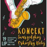 plakat koncert 19 lipca 2020 godzina 19 Scena nad jeziorem Swarzędz