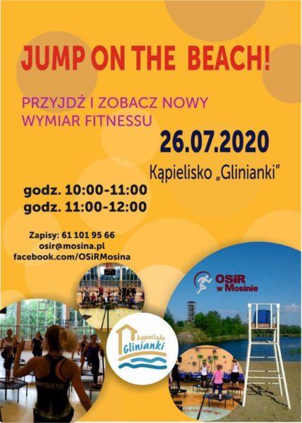 plakat jump on the beach mosina