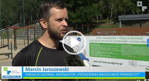Marcin Jaroszewski z Fundacji Łazienna