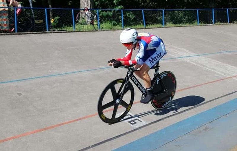 mistrzostwa polski w kolarstwie torowym juniorów