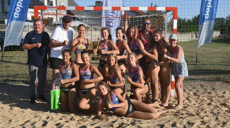 turniej półfinałowy mistrzostw Polski w piłce ręcznej plażowej młodziczek