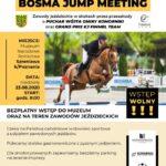 plakat zawody jeździeckie bosma jump meeting