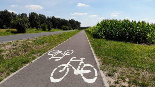 ścieżka rowerowa na odcinku Kociałkowa Górka – Pobiedziska