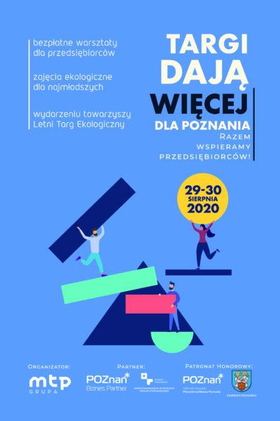 Plakata wydarzenia Targi dają więcej na 29 i 30 sierpnia 2020