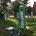 siłownia w parku w owińskach