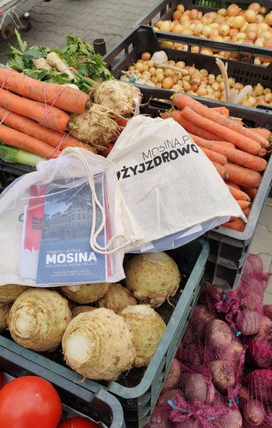 ekologiczne woreczki na warzywa