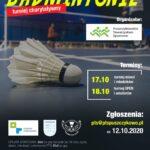Plakat - Otwarte Mistrzostwa Puszczykowa w Badmintonie