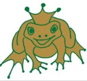 złota żaba logo