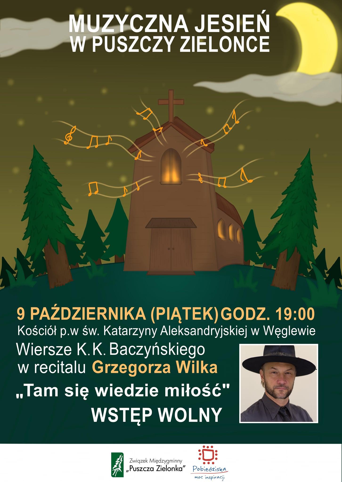 """Grzegorz Wilk w koncercie """"Tam się wiedzie miłość"""""""